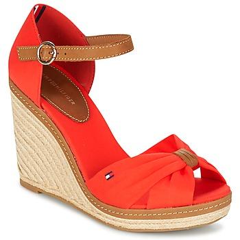 Schoenen Dames Sandalen / Open schoenen Tommy Hilfiger ELENA 56D Koraal / Bruin