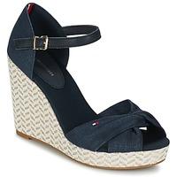Schoenen Dames Sandalen / Open schoenen Tommy Hilfiger ELENA 3DI Marine