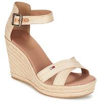 Schoenen Dames Sandalen / Open schoenen Tommy Hilfiger LUNA IDI Goud