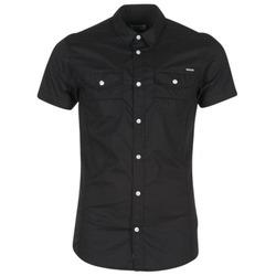 Textiel Heren Overhemden korte mouwen Kaporal RAC Zwart