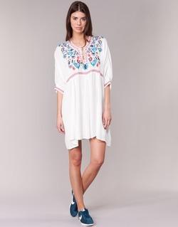 Textiel Dames Korte jurken Billabong MYSTIC DRESS Ecru