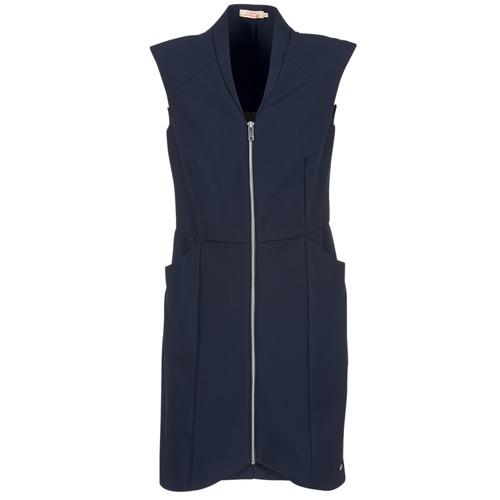 Textiel Dames Korte jurken DDP DISTOULA Marine