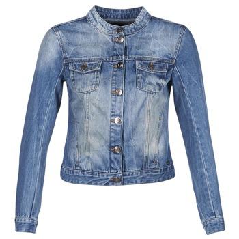Textiel Dames Spijker jassen DDP DASTIONA Blauw / Medium