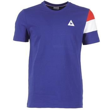 Textiel Heren T-shirts korte mouwen Le Coq Sportif BLUREA Blauw