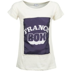 Textiel Dames T-shirts korte mouwen Kling WARHOL Wit