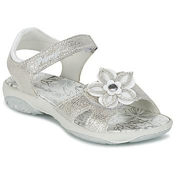Schoenen Meisjes Sandalen / Open schoenen Primigi BREEZOU Zilver