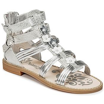 Schoenen Meisjes Sandalen / Open schoenen Primigi FANTAYS Zilver