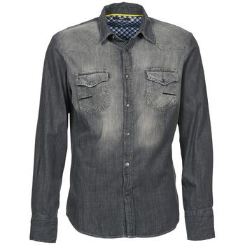 Textiel Heren Overhemden lange mouwen Meltin'pot CAREY Grijs
