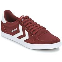 Schoenen Lage sneakers Hummel STADIL CANEVAS LOW Bordeau