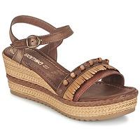 Schoenen Dames Sandalen / Open schoenen Samoa MOLAY Bruin