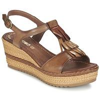 Schoenen Dames Sandalen / Open schoenen Samoa DREDU Bruin