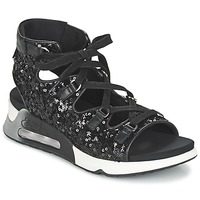 Schoenen Dames Sandalen / Open schoenen Ash LIV Zwart