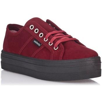 Schoenen Dames Lage sneakers Victoria 9205 Rood