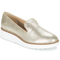 Schoenen Dames Mocassins Dune London GARNISH Zilver