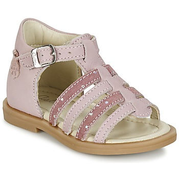 Schoenen Meisjes Sandalen / Open schoenen Aster MINIONE Roze