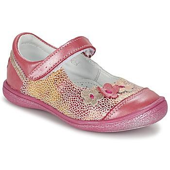 Schoenen Meisjes Ballerina's GBB PRATIMA Vte / Koraal / Dpf / 2787