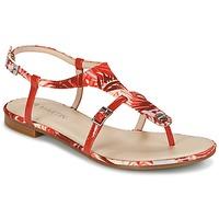 Schoenen Dames Sandalen / Open schoenen JB Martin GAELIA Rood / Tropical