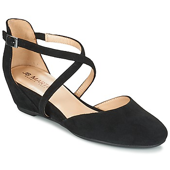 Schoenen Dames Sandalen / Open schoenen JB Martin GUYLIANA Zwart