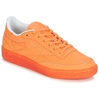 Schoenen Dames Lage sneakers Reebok Classic CLUB C 85 CANVAS Oranje