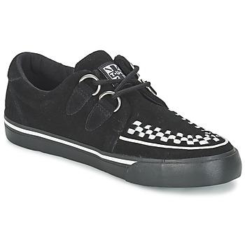 Schoenen Lage sneakers TUK CREEPERS SNEAKERS Zwart / Wit