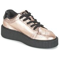 Schoenen Dames Lage sneakers TUK CASBAH CREEPERS Roze / Metaal