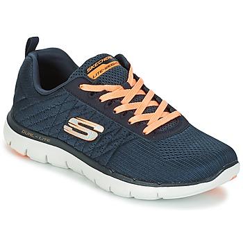 Schoenen Dames Sneakers Skechers Flex Appeal 2.0 Break Free Carbon