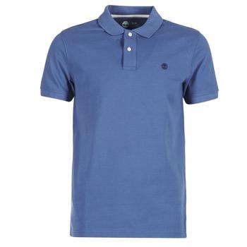 Textiel Heren Polo's korte mouwen Timberland SS MILLERS RIVER PIQUE REG POLO Blauw