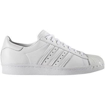 Schoenen Dames Lage sneakers adidas Originals SUPERSTAR 80S METAL Blanco