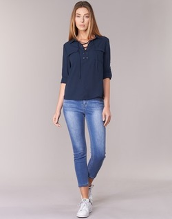 Textiel Dames Skinny jeans Best Mountain ROSEPELLE Blauw / Medium