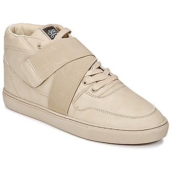 Schoenen Heren Hoge sneakers Sixth June NATION STRAP Beige
