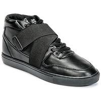 Schoenen Heren Hoge sneakers Sixth June NATION STRAP Zwart