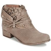 Schoenen Dames Laarzen Mimmu STROPFA Taupe