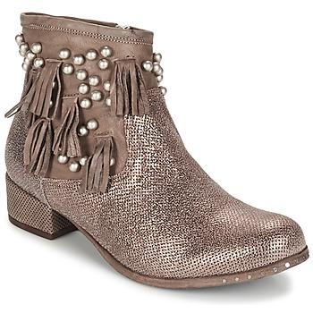 Schoenen Dames Laarzen Mimmu MOONSTROP Bruin