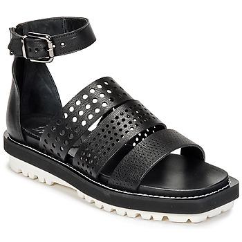 Schoenen Dames Sandalen / Open schoenen Now PADOU Zwart