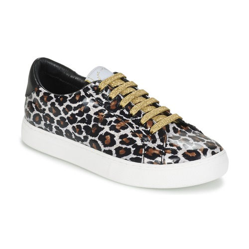 Schoenen Dames Lage sneakers Marc Jacobs EMPIRE LACE UP Luipaard