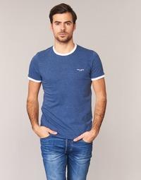 Textiel Heren T-shirts korte mouwen Teddy Smith THE TEE Blauw