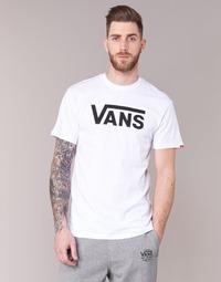 Textiel Heren T-shirts korte mouwen Vans VANS CLASSIC Wit