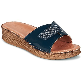 Schoenen Dames Sandalen / Open schoenen Salamander FLORA Blauw