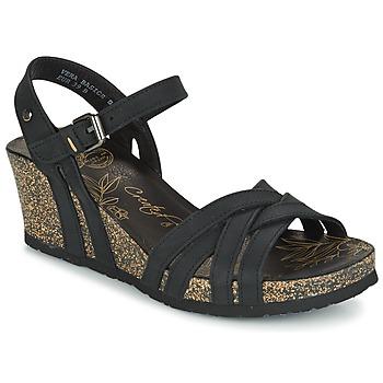 Schoenen Dames Sandalen / Open schoenen Panama Jack VERA Zwart