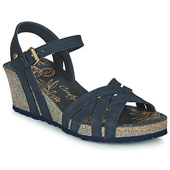 Schoenen Dames Sandalen / Open schoenen Panama Jack VERA Blauw