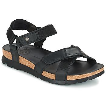 Schoenen Heren Sandalen / Open schoenen Panama Jack SAMBO Zwart