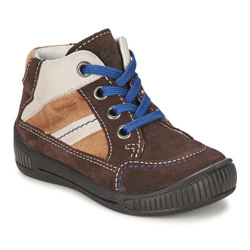 Schoenen Jongens Laarzen Superfit  Bruin