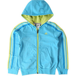Textiel Jongens Trainings jassen adidas Performance Veste de survêtement Adidas enfant Blauw
