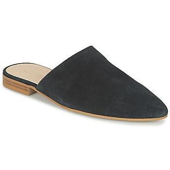 Schoenen Dames Leren slippers Esprit AMARIS SLIDE Zwart