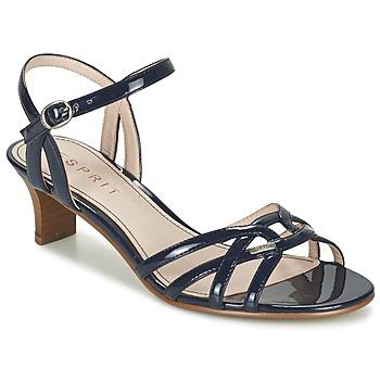 Schoenen Dames Sandalen / Open schoenen Esprit BIRKIN SANDAL Marine
