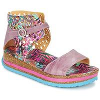 Schoenen Dames Sandalen / Open schoenen Think REMIL Roze / Multi
