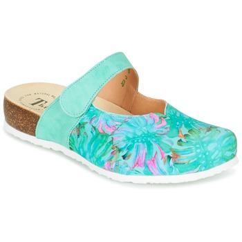 Schoenen Dames Klompen Think SOREN Turquoize