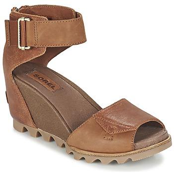 Schoenen Dames Sandalen / Open schoenen Sorel JOANIE SANDAL Bruin / Rustique