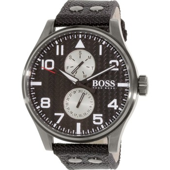 Horloges Heren Analoge horloges Hugo Boss 1513086 Zwart