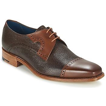 Schoenen Heren Derby Barker APPOLLO Bruin
